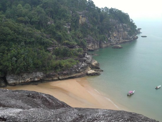 Bako National Park, Malaysia: View from cliff