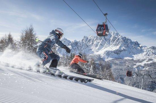 Skigebiet 3 Zinnen Dolomites