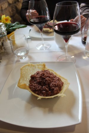 Valgatara, Italia: risotto all' amarone
