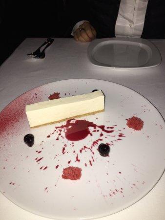 George Prime Steak: Cheesecake