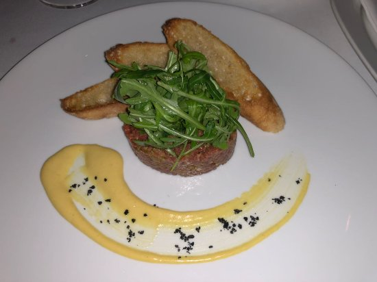 George Prime Steak: Steak tartare