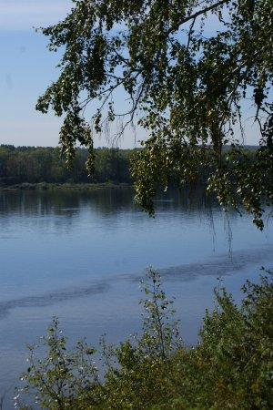Kemerovo Oblast, Rússia: Вид с берега на р.Томь