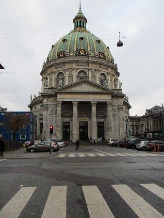 Iglesia de Mármol (Iglesia de Federico): Frederik's Church, Copenhagen (Photo taken 10/12/17)
