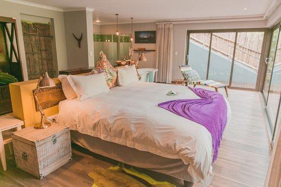 Jaci's Safari Lodge: Downstair Bed (Starbed Suite)
