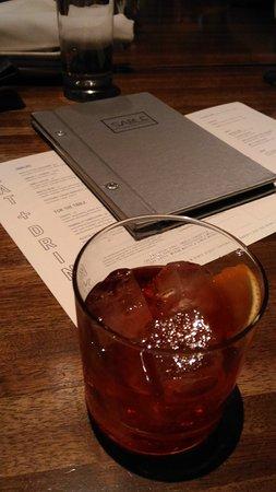 Sable Kitchen & Bar: Negroni! Amazing!