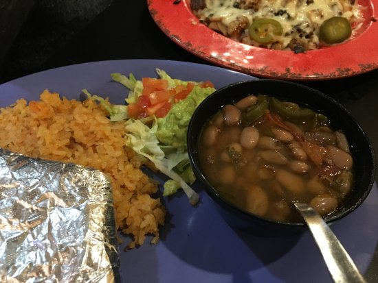 Hearne, TX: Part of Santa Fe Platter