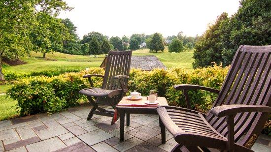Balcony - Picture of Boar's Head Resort, Charlottesville - Tripadvisor