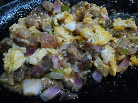 Bongabong, Filippinene: Pork Sisig