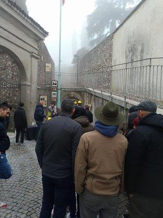 Bunker di Cavriana: L'ingresso del Bunker da Piazza Castello a Cavriana (MN)
