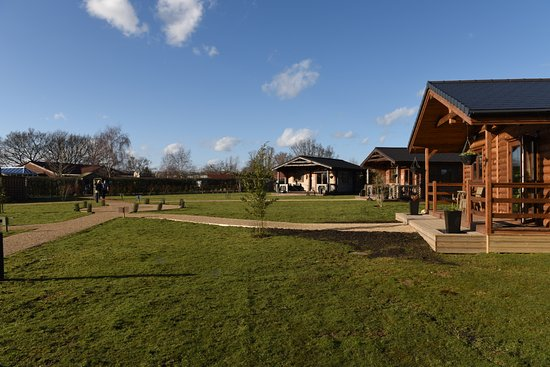 Smarden, UK: General view of Lodges