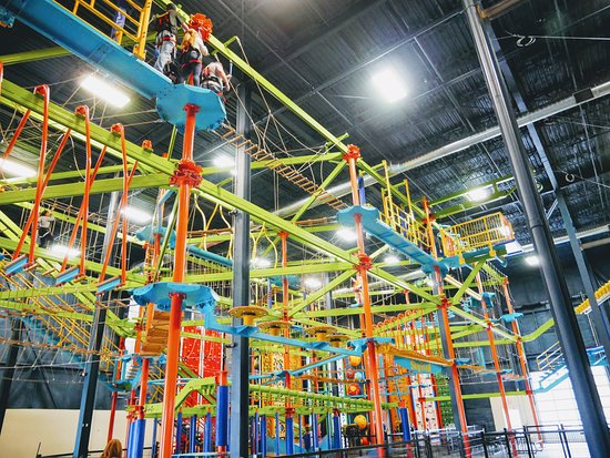Allegan, Мичиган: Amazing Sky Trail Ropes Course
