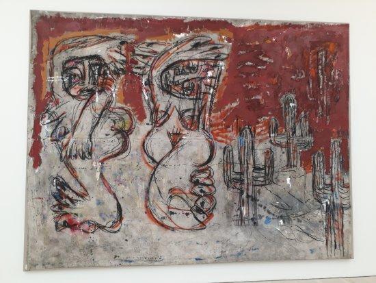 Saatchi Gallery: As Basquiat and Melgaard etc