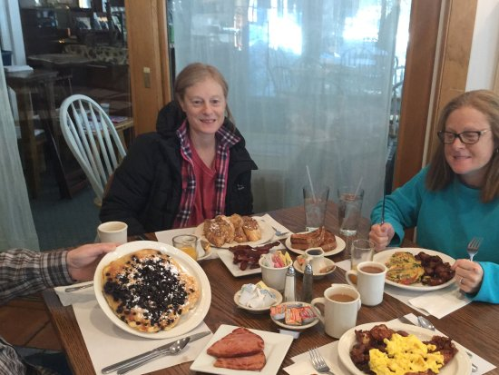 Oquossoc, Μέιν: Breakfast