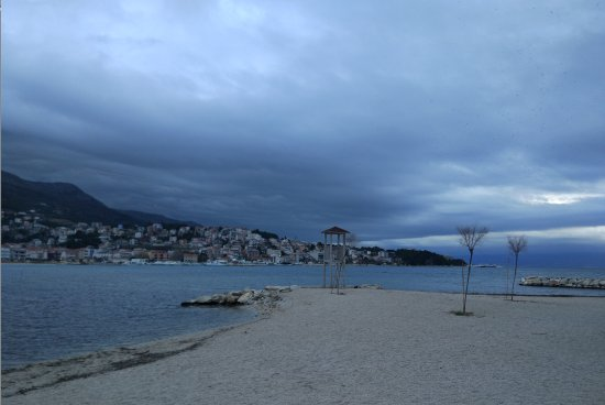 Stobrec, Kroatien: spiaggia camping