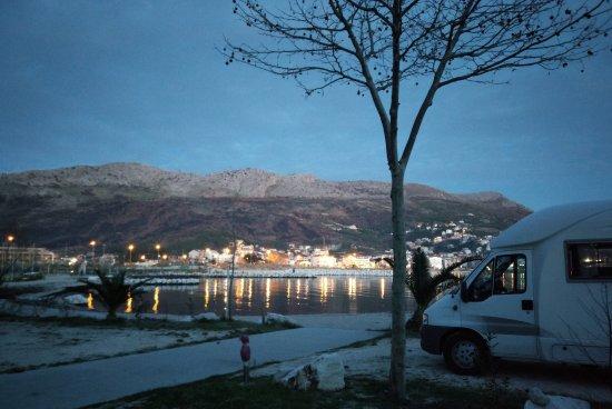 Stobrec, Croatia: piazzola di sosta