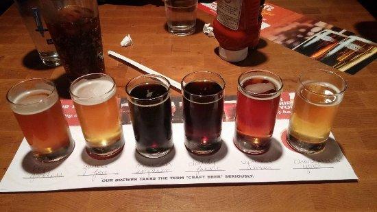 Rock Bottom Restaurant & Brewery: Rock Bottom Brewery, Charlotte, NC, Feb 2018