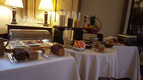 Noizay, France: petit-déjeuner