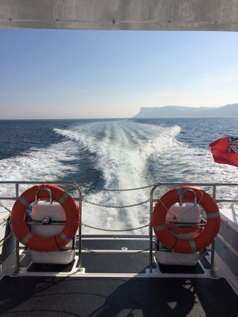 Campbeltown, UK: Our fast passenger ferry