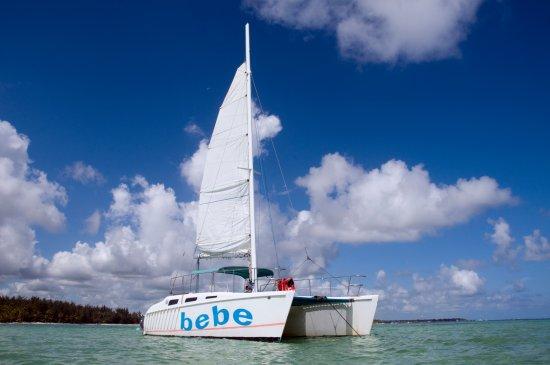 Баваро, Доминикана: Our Cat Pause Catamaran