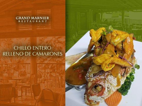 Aguada, Porto Riko: ¡Amante de los pescados, #GrandMarnier también te complace!  ¡Visítanos!