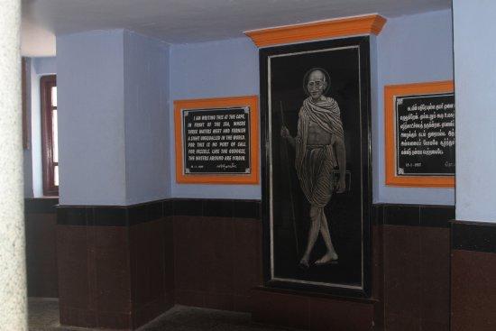 Gandhi Memorial: wewnątrz