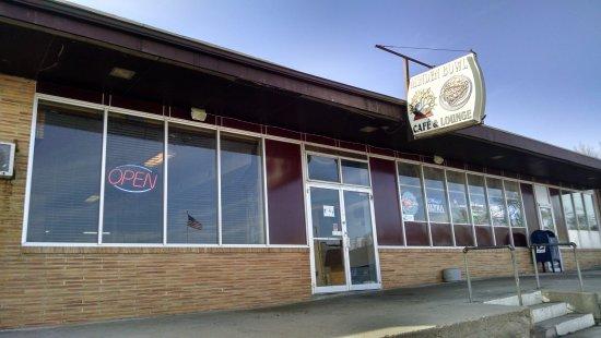 Minden Bowl Cafe & Lounge entrance