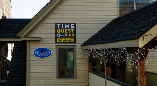 Littleton, NH: Located at 16 Mill St,  We are next to the covered bridge and an easy walk to Main St.