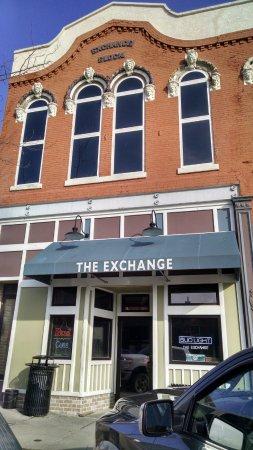 Avoca, IA: The Exchange - entrance