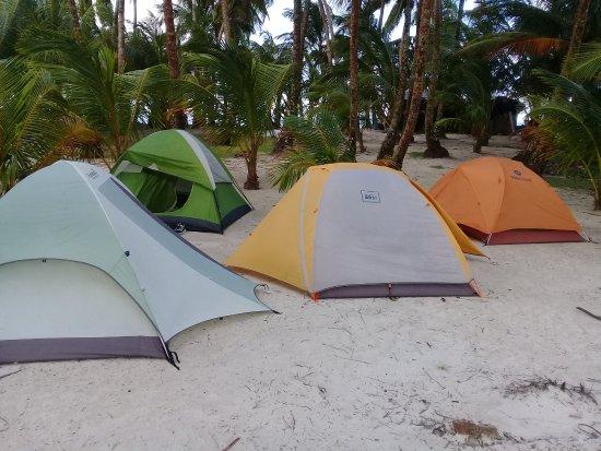 Pearl Lagoon, Никарагуа: Pearl Keys - Camping