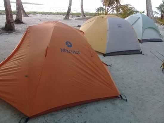 Kabu Tours - Day Tours: Pearl Keys - camping