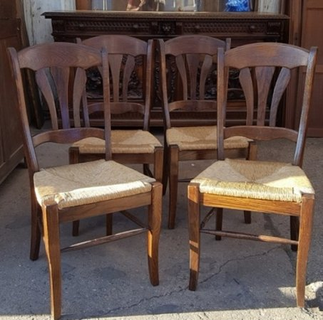 Lots Of Furniture Antiques Inc Rush Seat Country French Chairs