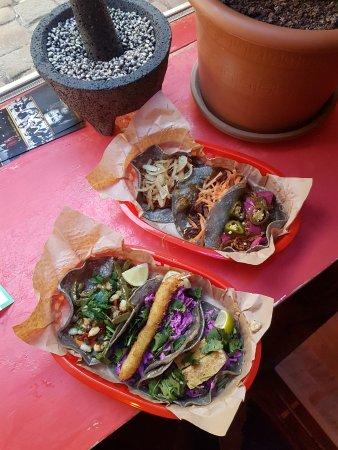 Blue tacos