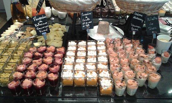 Monument Cafe Versailles: Verrines salées