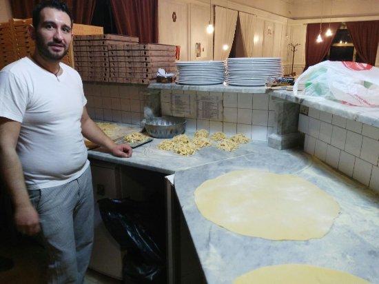 Manziana, İtalya: Le pietanze.......