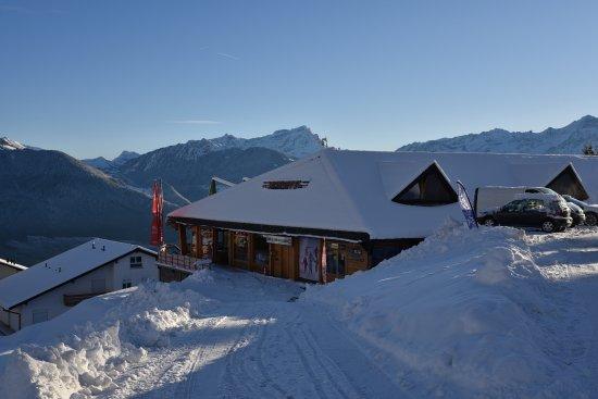 Torgon, Ελβετία: Pour arriver au Café Chocolat
