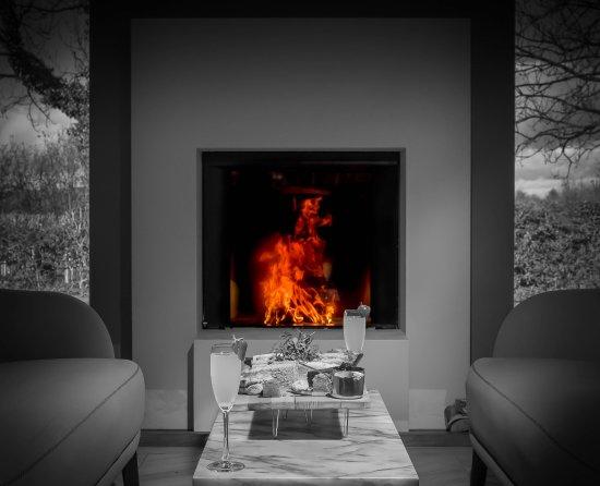 Billington, UK: Fire