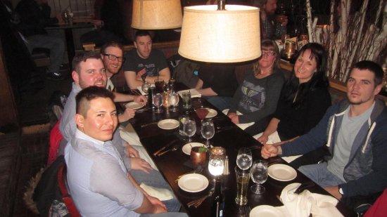 Harrison's Restaurant & Bar: Our modern family