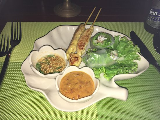 3 Spices Restaurant: Our starter combo
