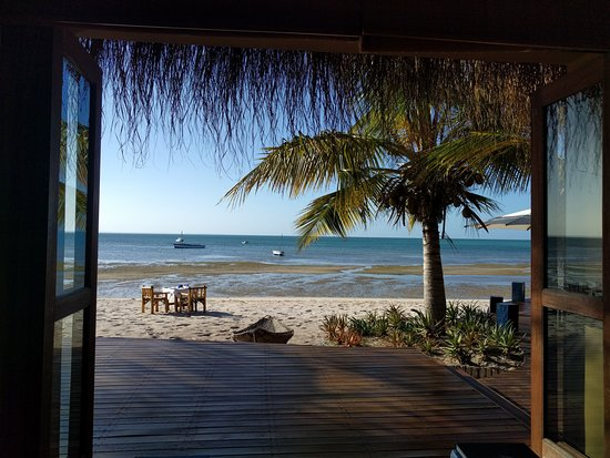 Benguerra Island, Mocambique: View from a common area around the Resort