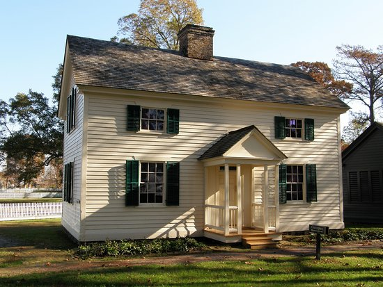 This Original Dependency Now Serves As The Somerset Place Visitor Center.