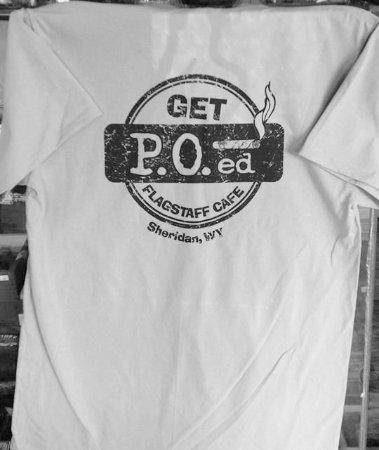 PO News & Flagstaff Cafe: new PO News Flagstaff cafe t-shirt