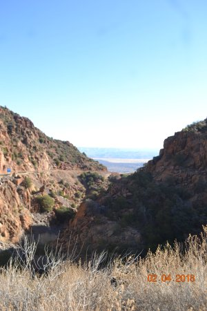 Clarkdale, AZ: The start of the Mountain Drive