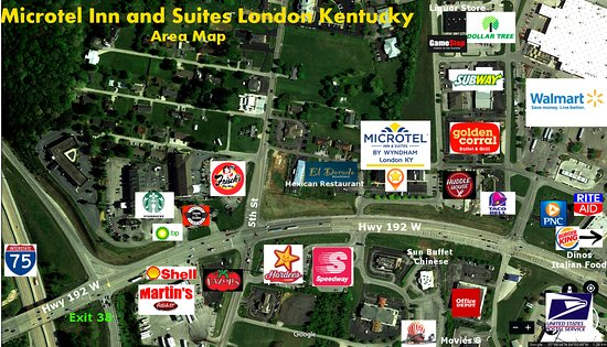Hotel Map of What's around us - Picture of Microtel Inn & Suites by on
