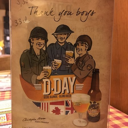 La Fringale : D-Day Beer served here.
