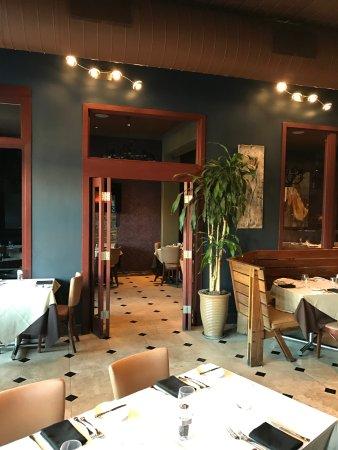 San Mateo, Kaliforniya: Inside the restaurant