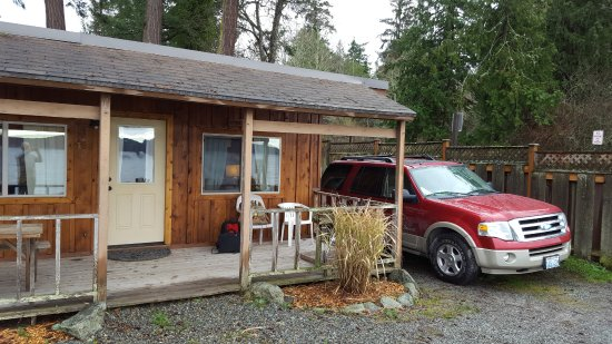Eastsound, واشنطن: Our cabin