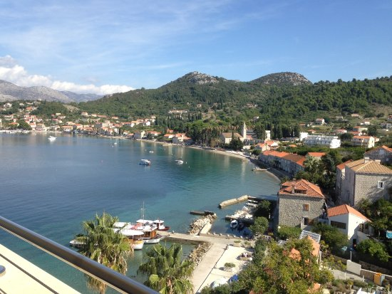 Lopud, Kroatië: View from my balcony, how lovely!