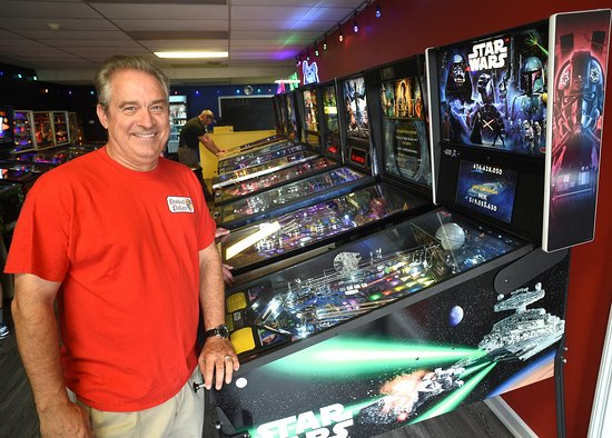 Pinball Palace: Owner and Pinball Enthuiast Kelley Daniel