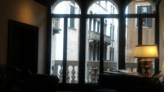 Aqua Palace Hotel: Vista dal corridoio