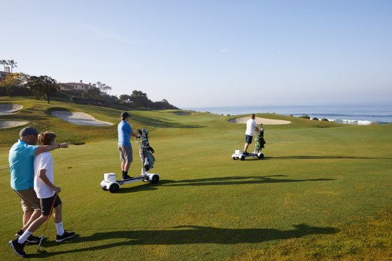 Dana Point, CA: Surf the Earth on a GolfBoard during your next round at MBGL!